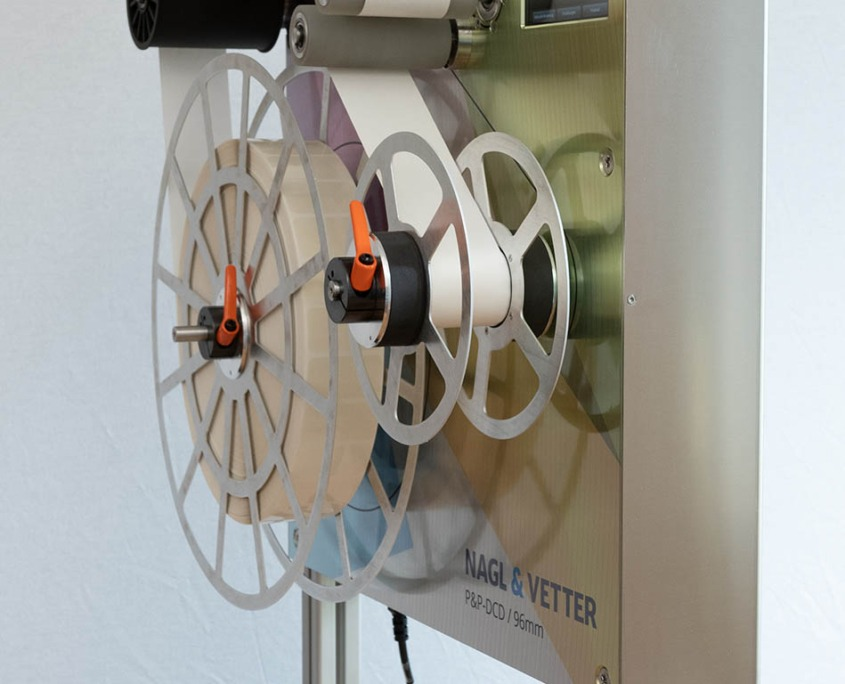 Die-cut dispenser P&P-DCD / 96mm (side view)